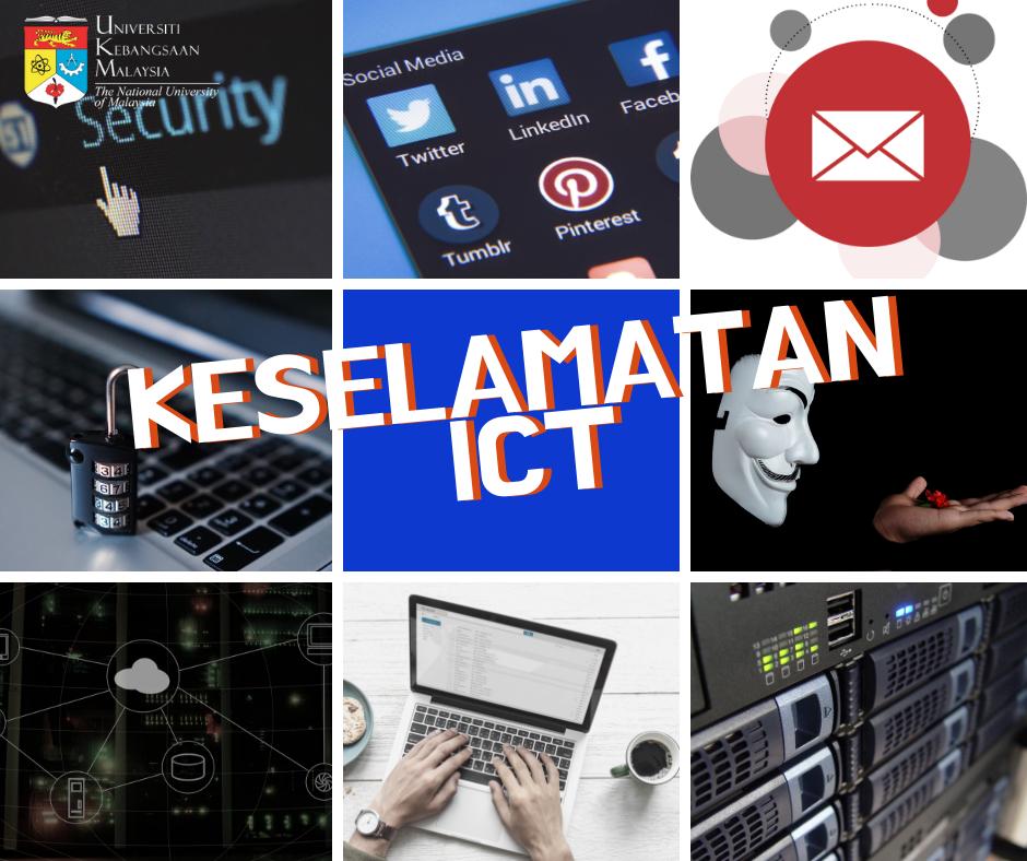 muka depan kursus kesedaran keselamatan ICT